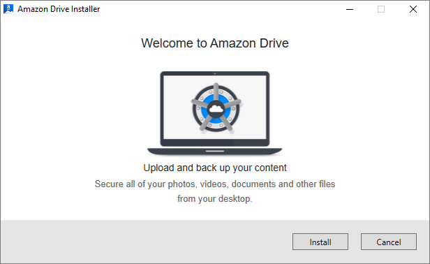 Welcome to Amazon Drive